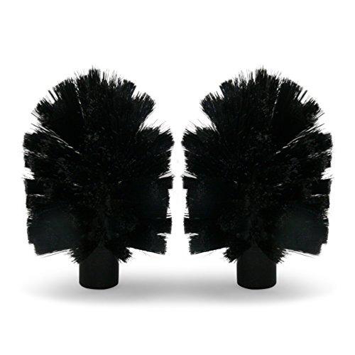 Brush Hero 'BH107' - Brosses de rechange pour le système Brush Hero, Paire (Noir/Noir) cheap