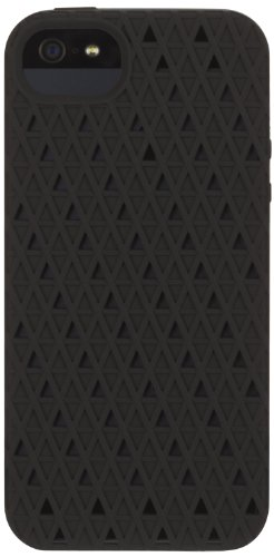 Griffin 605783-FGFB Flex Grip Case for iPhone 5 - 1 Pack - Retail Packaging - Black