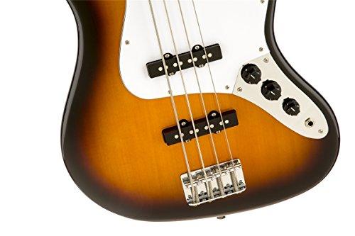 Squier by Fender Affinity Jazz Beginner Electric Bass Guitar - Rosewood Fretboard, Brown Sunburst by Squier (Image #2)