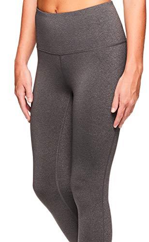 Reebok Women s Capri Workout Leggings w High-Rise Waist - Cropped Performance  Compression Tights c72a1ac10