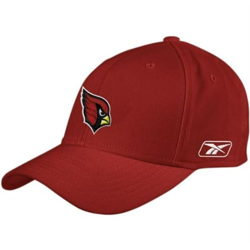- Arizona Cardinals NFL Reebok Fitted Size 7 1/2 Hat Cap