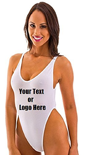 RELTANGL Women s One Piece High Cut Backless Thong Bathing ... 684c723480
