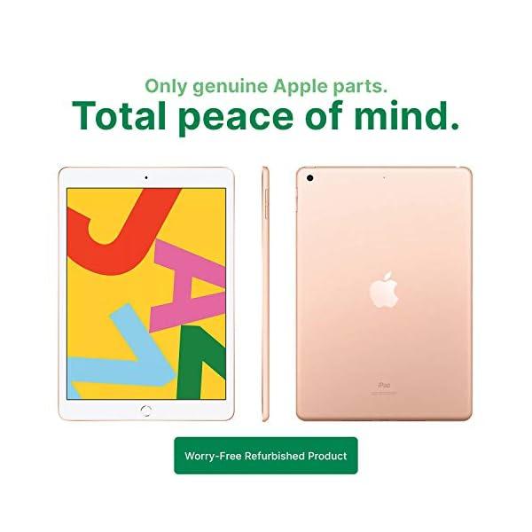 "Apple iPad | 10.2"" | 7th GEN | WI-FI | 32GB | Gold | 2019 | (Renewed) 3"