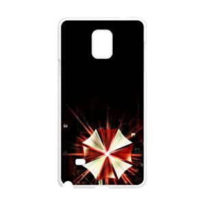 QQQO video games s Resident Evil Umbrella Corp logos Phone case for Samsung galaxy note4