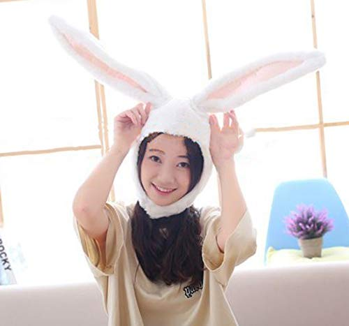 Super Cute Cartoon Cosplay Accessories Hat Head-pieces Cap Headgear Great Costume Décor for Halloween Christmas - White Rabbit