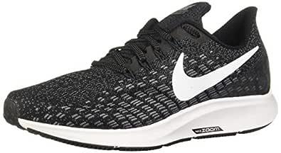 Nike Women's Air Zoom Pegasus 35 Running Shoes, Black/White-Gunsmoke-Oil Grey, 6 US