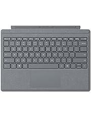 Microsoft Surface Pro Signature Type Cover Tastiera, 12.3 pollici, Retroilluminazione a LED, Platino [ITALIANO]