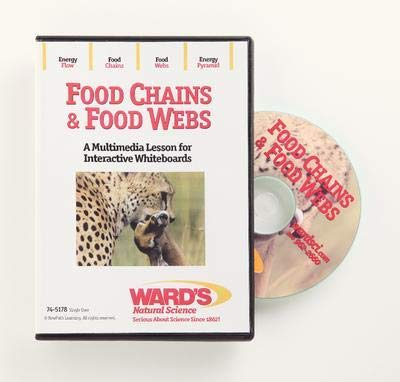 - 54-6410V - Description : Food Chains & Food Webs Interactive Whiteboard Science Lesson CD, Site License - Interactive Whiteboard Science Lesson CD: Food Chains & Food Webs - Each