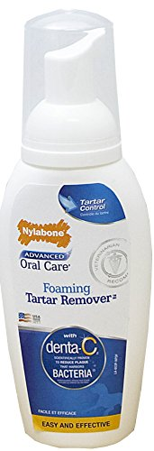 Nylabone Advanced Oral Care 4 oz Dog Foaming Tartar Remover