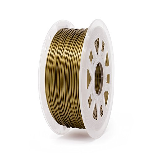 Gizmo Dorks 3mm Metal Bronze Filament, 1 kg for 3D ()