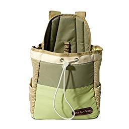 One for Pets The Front Dog Carrier, Green