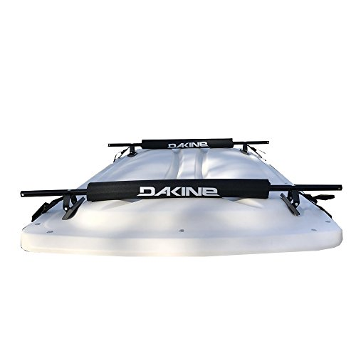 (NEW GOLF CART / EV / ELECTRIC VEHICLE SURFBOARD LONGBOARD ROOF RACK EZ-GO CLUB CAR YAMAHA WITH DAKINE PADS AND STRAPS - Delivered Fully Assembled Just Tighten Clip Straps & Use)