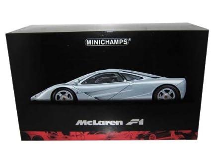Amazon.com: McLaren F1 GTR roadcar en plata en 1: 12scale by ...