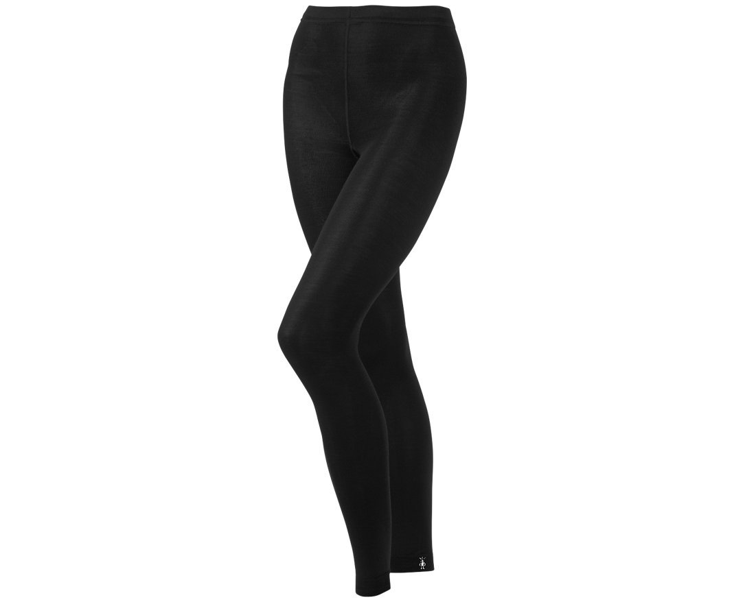 SmartWool Women's Basic Footless Tight II (Black) Large