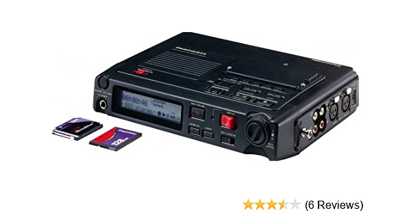 amazon com marantz pmd670 digital compact flash portable recorder rh amazon com Marantz Digital Recorder Marantz R&B 1651