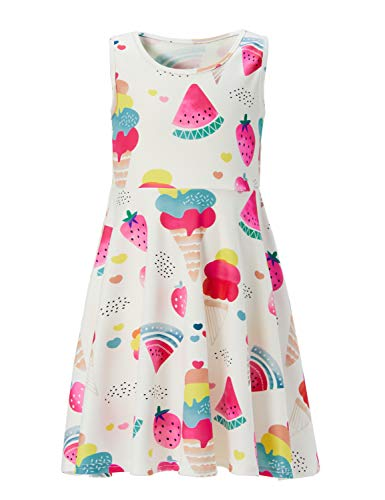 Girl Ice Cream Strawberry Skate Dress Juniors Teenager Summer Fall Outfits Size - Girl Skate Clothing