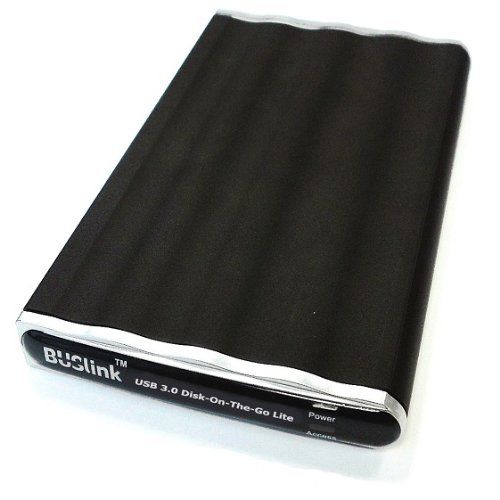 BUSlink 240GB eSATA, USB 3.0 Disk-On-The-Go SSD External Slim Drive by BUSlink