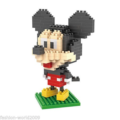 LOZ Mickey Diamond Nano Building Blocks Bricks Action mini Figures Toys New (Of Club Month Plant Best The)