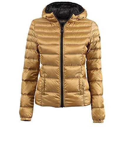 Mujer A Viento Oro Mead Tejido Refrigiwear Chaqueta Prueba Plumas Para De Hidrófugo wU14WqSX