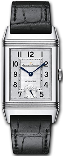 Jaeger-LeCoultre Grande Reverso Night and Day Automatic Black Leather Strap Swiss Made Watch Q3808420 (Grande Jaeger Lecoultre)