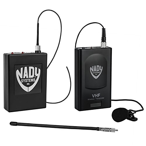 Nady 351 VR LT Professional Wireless DSLR Camera / Video Camcorder Portable Lapel / Lavalier Microphone System – Compatible with Canon / Nikon / Sony / Panasonic / BlackMagic / Zoom / Tascam / Roland