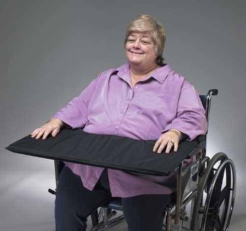 Skil-Care Corp. (n) Wheelchair Sof-Top Lap Tray Bariatric W/Nylon Cvr 24-28