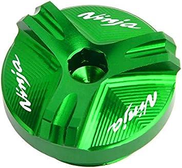 Kawasaki Z750 S 2004 2005 2006 2007 2008 2009 2010 Accessoires Moto CNC Huile Bouchon de Remplissage Bouchon for Z750 Color : Black