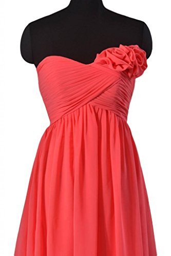 Wedding Beach Bridesmaid Party Short BM2425 orange DaisyFormals Dress 22 Chiffon Dress 5Hq4dZ