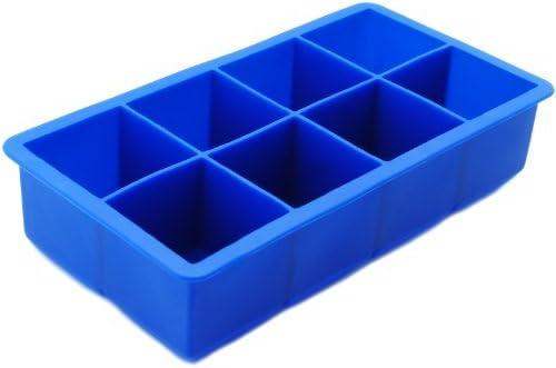Woo World Store 8-de metal para Cube Jumbo de silicona bandeja de ...