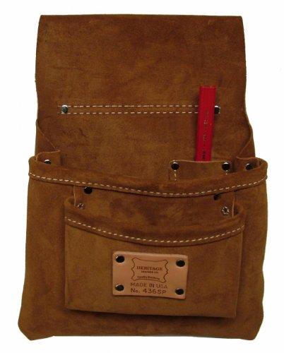 - Heritage Leather 436SP 3-Pocket Nail Bag