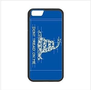 Beautiful Snake Design Gadsden Flag Apple iphone 6 4.7 TPU (Laser Technology) Case, Cell Phone Cover