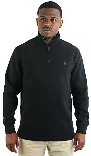 Polo Ralph Lauren Men's Half-Zip Pullover Sweater Black Size XL