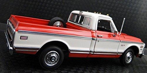 Chevy Pickup Truck 1970s 1 Vintage Classic 24 Car 18 Rat Rod Chevrolet 12 Pre Built 25 Metal Diecast Model T Art A Sport Classic Carousel Red