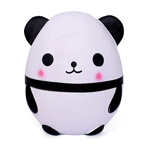 WeYingLe Squishy Jumbo Slow Rising Panda Cream Scented Kawaii Squishies Toys Kids Adults, Lovely Stress Relief Toy. Big Size Panda (6 inch Panda)