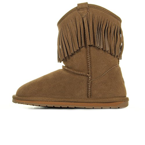 Unisex Marron EMU Kinder Glaziers Mokassin Boots gqCTFnx