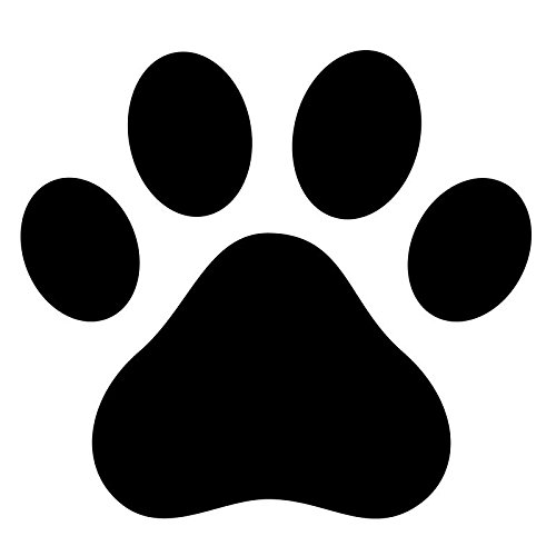(Pack of 3 Dog Paw, Dog Print Stencils, 11x14, 8x10 and 5x7 Made from 4 Ply Matboard )
