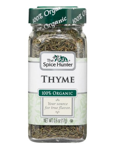 Spice Hunter Thyme Organic, 0.6-Ounce Unit (Pack of 6)