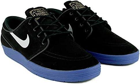 Lejos costilla autor  Nike SB Lunar Janoski Black/White/Game/Royal Skate Shoes Size:  Amazon.co.uk: Shoes & Bags