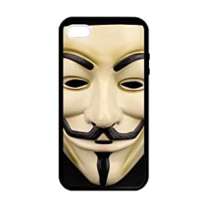 Pink Ladoo? Guy Fawkes Mask Clay Sculpture Case for iPhone 5 5s case
