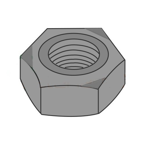 M10-1.5 Hex Weld Nuts / 3 Projections & Center Pilot Ring/Steel/Plain / DIN929 (Carton: 2,000 pcs)