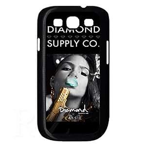 diamond supply co HD Phone Case for Samsung Galaxy S3 I9300/I9308/I9309 Case (Black)