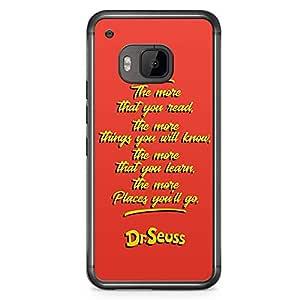 Loud Universe Dr Seuss Quote HTC M9 Case Wisdom Classic HTC M9 Cover with Transparent Edges