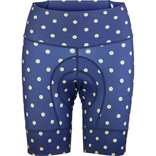 Shebeest Womens Clothing : - SHEBEEST Petunia Short - Women's Polka Dot/Navy, M