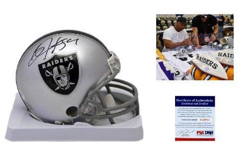 Bo Jackson Autographed / Signed Oakland Raiders Mini - Bo Autographed Helmet Jackson