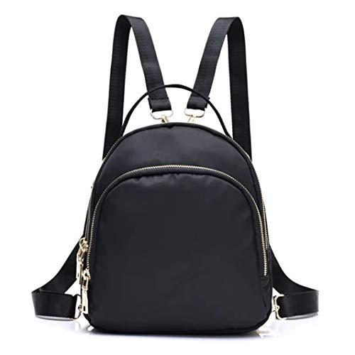 - Mini Backpack Purse for Women, Plain Shoulder Bags Crossbody Handbag for Girls Daypack Black (Black 369)