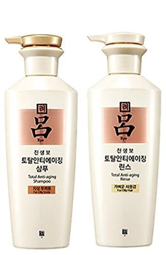 Amore Pacific Ryo Ginsengbo Shampoo for Oily Scalp 400ml Conditioner 400ml Brand New by Amore Pacific