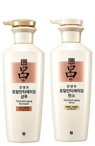 Ryoe Korean Jinsaengbo Total Anti Aging Shampoo + Rinse White 400ml by...