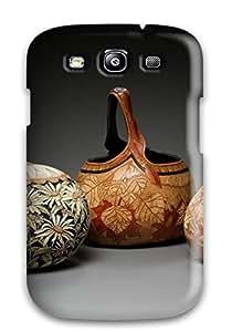 New Gourd Art Tpu Case Cover, Anti-scratch ZippyDoritEduard Phone Case For Galaxy S3