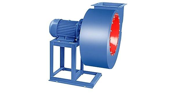 Ventilador centrífugo de bajo ruido, aspa del ventilador de múltiples palas, cilindro engrosado, movimiento de cobre puro, ventilador de tiro inducido industrial, taller, almacén, industrial, fábric: Amazon.es: Hogar