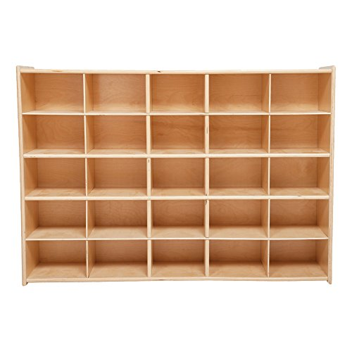 Sprogs 25-Tray Wooden Storage Unit - Unassembled, SPG-71140 ()